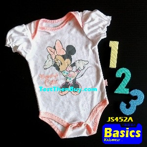 JS452A Baby Romper for Girls Age 3 months old