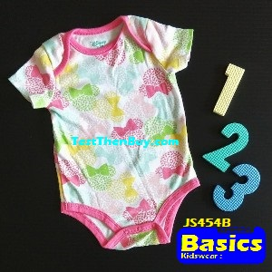 JS454B Baby Romper for Girls Age 6 months old