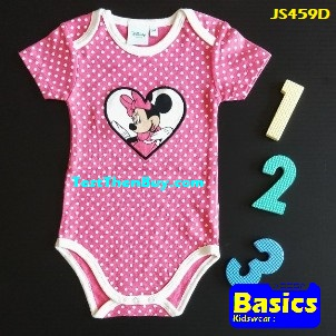JS459D Baby Romper for Girls Age 1