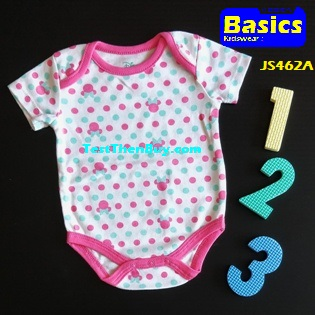 JS462A Baby Romper for Girls Age 3 months old