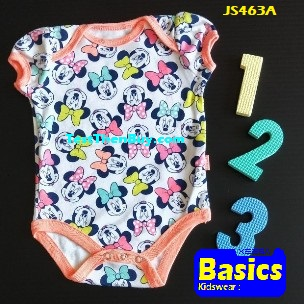 JS463A Baby Romper for Girls Age 3 months old