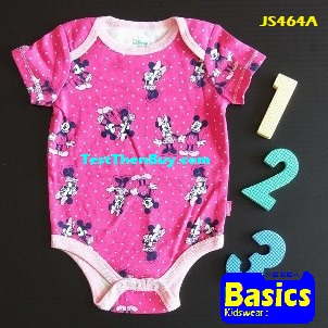 JS464A Baby Romper for Girls Age 3 months old