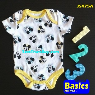 JS475A Baby Romper for Boys Age 3 months old