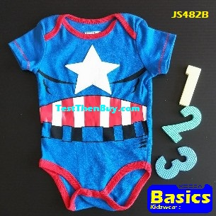 JS482B Baby Romper for Boys Age 6 months old