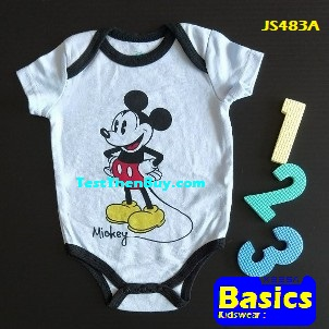 JS483A Baby Romper for Boys Age 3 months old