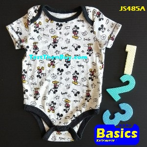 JS485A Baby Romper for Boys Age 3 months old