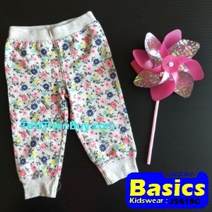 JS519C Baby Pants for Girls Age 9 months old