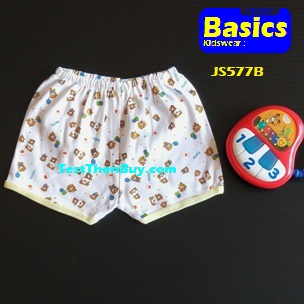 JS577B Baby Shorts for Age 6 months