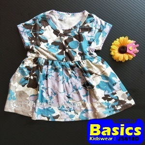JS618D Baby Dress for Girls Age 1