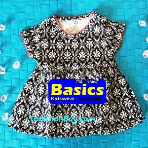 JS619C Baby Dress for Girls Age 9 months old