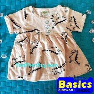 JS620C Baby Dress for Girls Age 9 months old