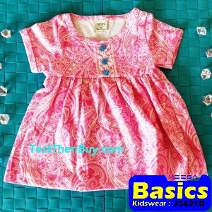 JS621D Baby Dress for Girls Age 1