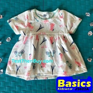 JS622A Baby Dress for Girls Age 3 months old