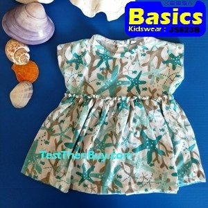 JS623B Baby Dress for Girls Age 6 months old