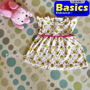 JS625C Baby Dress for Girls Age 9 months old