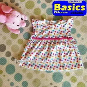 JS626C Baby Dress for Girls Age 9 months old