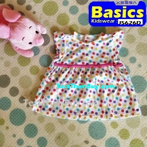JS626D Baby Dress for Girls Age 1