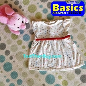 JS627D Baby Dress for Girls Age 1
