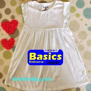 JS6397 Children Dress for Girls Age 7