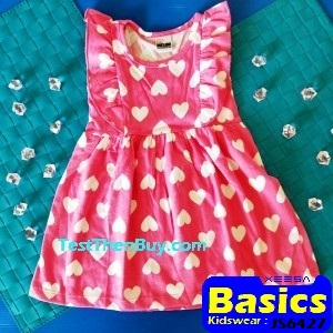 JS6427 Children Dress for Girls Age 7