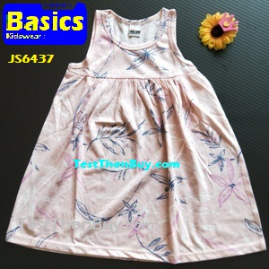 JS6437 Children Dress for Girls Age 7