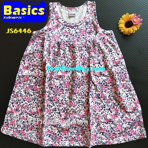 JS6446 Children Dress for Girls Age 6