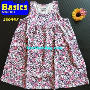 JS6447 Children Dress for Girls Age 7