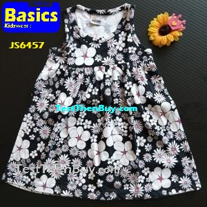 JS6457 Children Dress for Girls Age 7