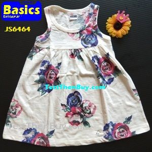 JS6464 Children Dress for Girls Age 4