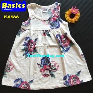 JS6466 Children Dress for Girls Age 6