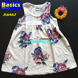 JS6467 Children Dress for Girls Age 7