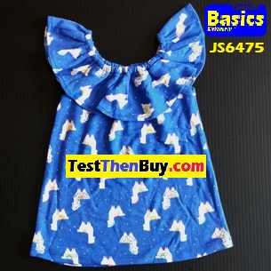 JS6475 Dress for Girls Age 5