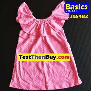 JS6482 Dress for Girls Age 2