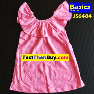 JS6484 Dress for Girls Age 4