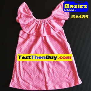 JS6485 Dress for Girls Age 5
