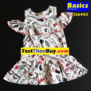 JS6492 Dress for Girls Age 2