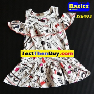 JS6493 Dress for Girls Age 3