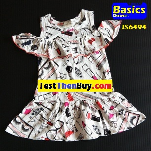 JS6494 Dress for Girls Age 4