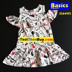 JS6495 Dress for Girls Age 5