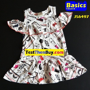 JS6497 Dress for Girls Age 7