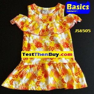 JS6505 Dress for Girls Age 5
