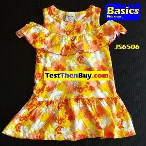 JS6506 Dress for Girls Age 6