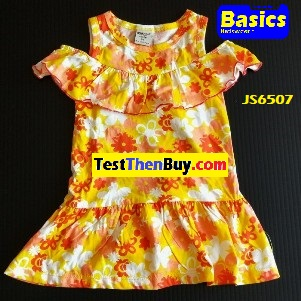 JS6507 Dress for Girls Age 7