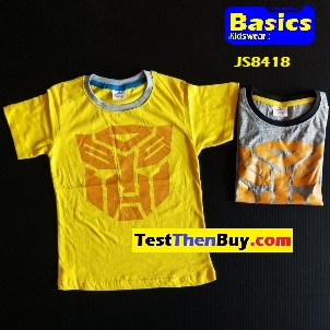 JS8418 Kids Top for Age 7