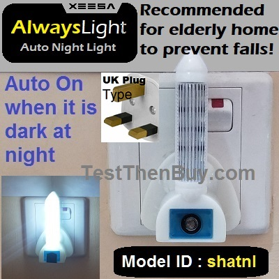 AlwaysLight Auto Night Light