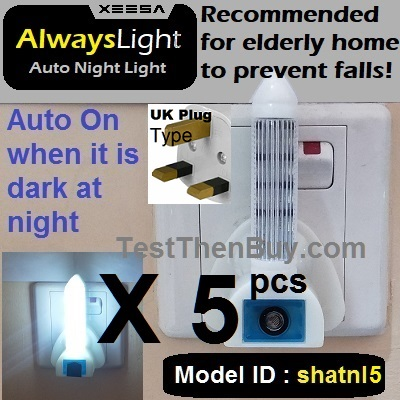 AlwaysLight AutoNightLight X 5