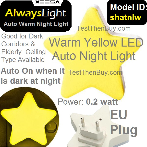 AlwaysLight Warm Auto Night Light