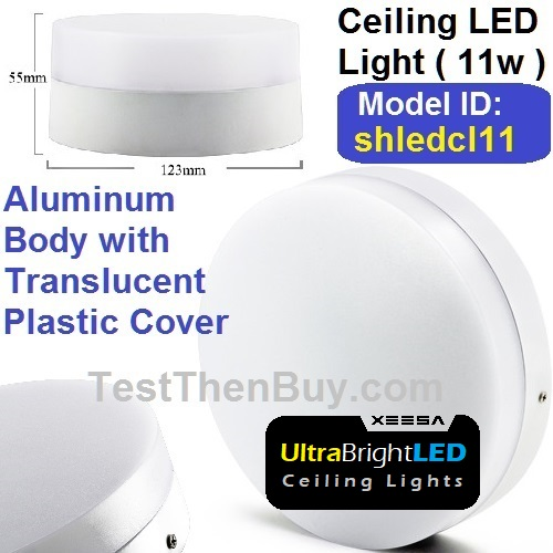 Cool White LED Ceiling Light 11 Watt