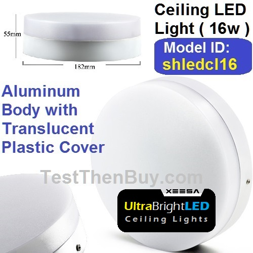 Cool White LED Ceiling Light 16 Watt