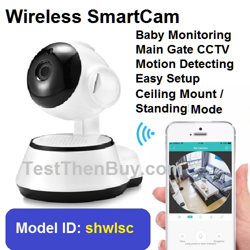 Wireless SmartCam for Main Gate and Baby